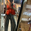 Thumbnail: Polera satinada roja (talla unica (s /m)