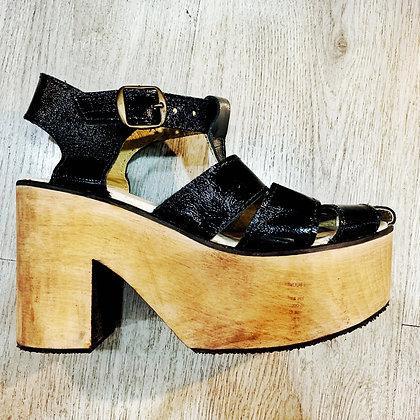 Sandalia Eloísa Negra