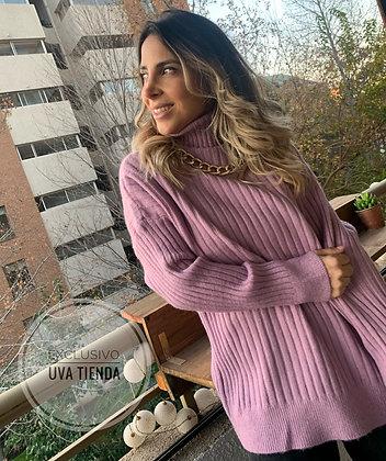 Maxi tejido rosado