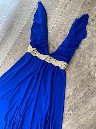 Vestido azul Electrico