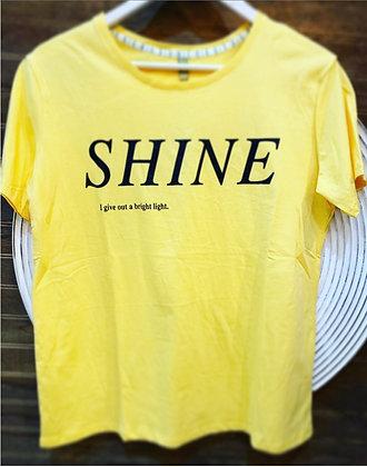 Polera Amarilla Shine