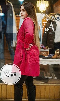 Abrigo Rojo diseñado