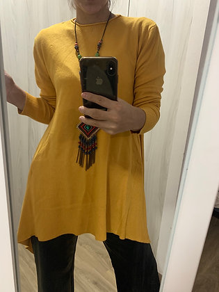 Tejido largo tipo mini vestido