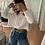 Thumbnail: Tejido blanco corto (ideal para S-m y M)