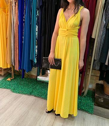 Vestido amarillo multiformas