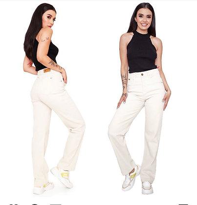 Jeans Beige tendencia