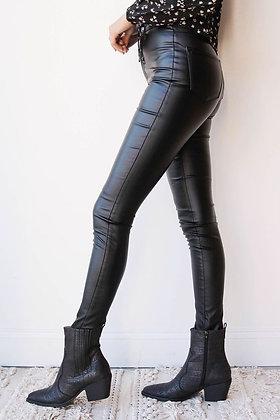 Pantalon Simil cuero (afranelado interno)