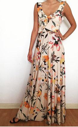 Vestido colores pastel floral