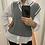 Thumbnail: Vest gris rayas