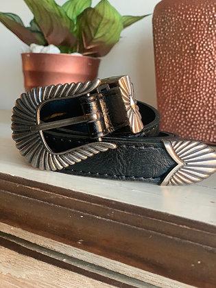 Cinturón Conchita negro
