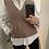 Thumbnail: Vest trenzado beige oscuro