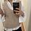 Thumbnail: Vest trenzado beige