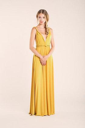 Vestido Multiforma amarillo