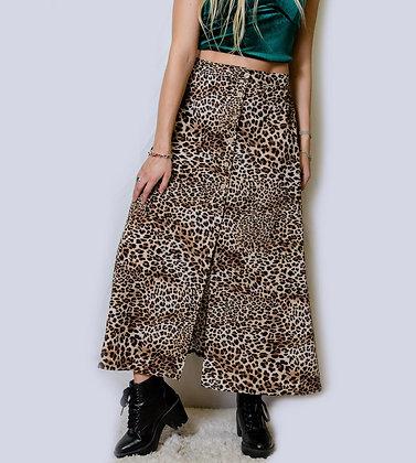 Maxi falda print