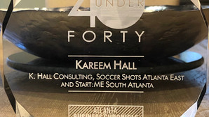Q&A with Kareem Hall (2019 40 Under Forty Honoree)