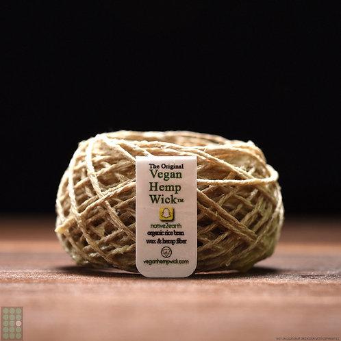 30ft - Certified Vegan Hemp Wick™