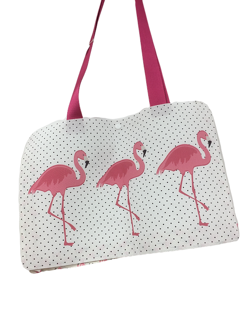 Sac flamant rose