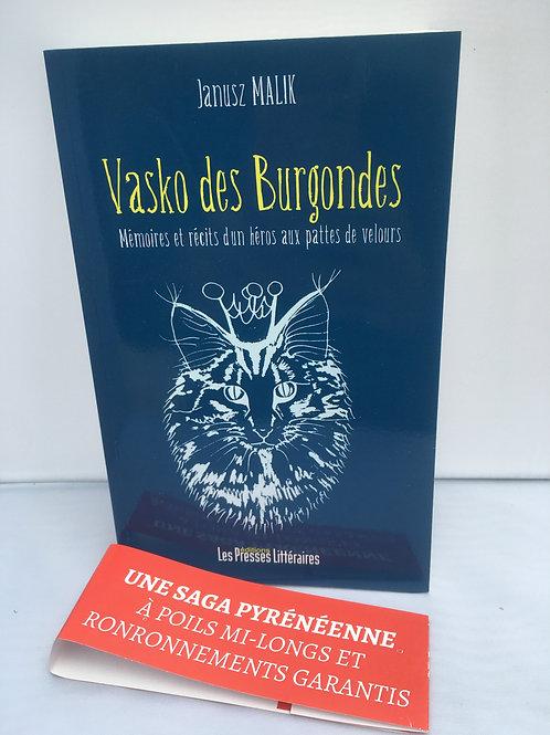 """Livre """"Vasko des Burgondes"""""""