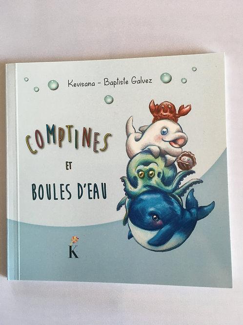 """Livre enfant """"Comptines et boules d'eau"""""""