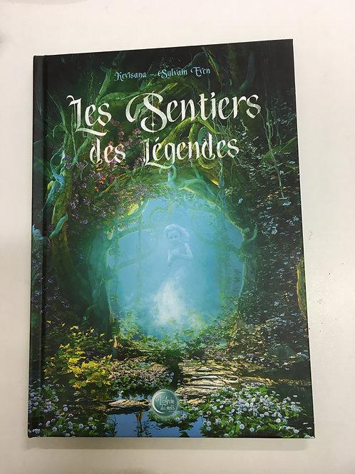 """Livre """"Les sentiers des légendes"""""""