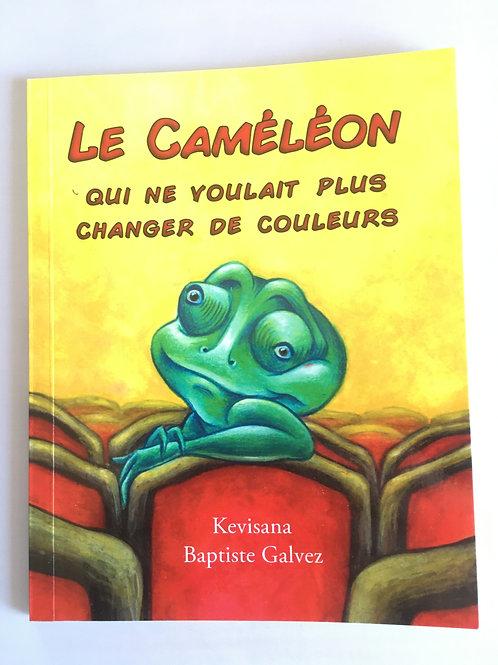 """Livre enfant """"Le caméléon qui ne voulait plus changer e couleur"""""""