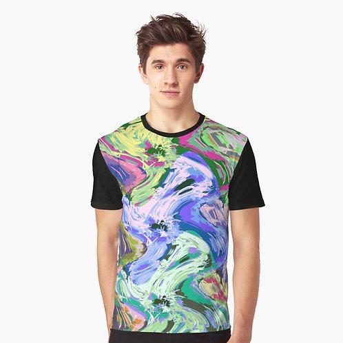 Tee-shirt impression Art numérique