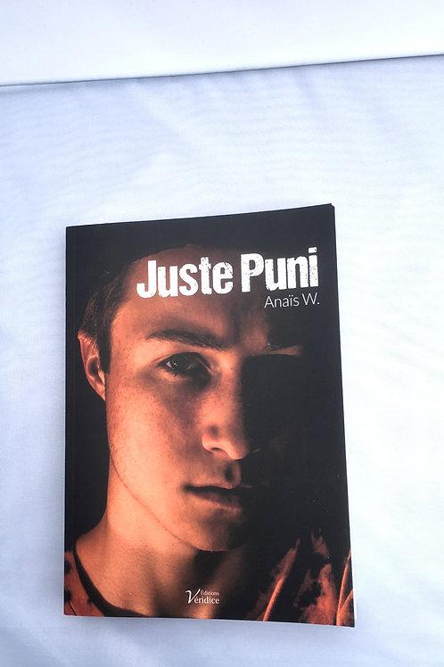 """Livre """" Juste Puni"""""""