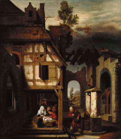 Adoration of the Shepherds_Nicolaes Maes