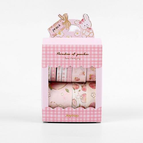 Peach Pack Washi Sticker Tape