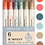 Thumbnail: 6pc pf Soft Color Vience Markers