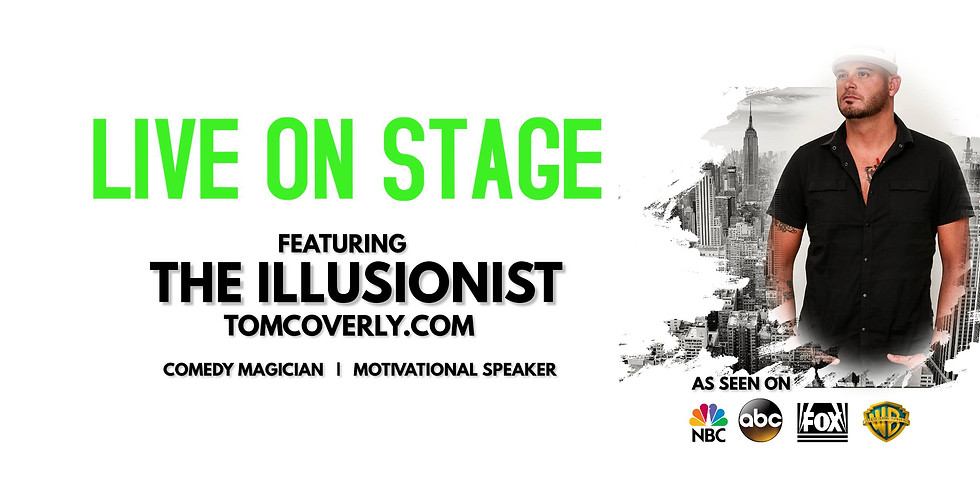 Tom Coverly The Illusionist: Live at CBC