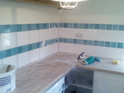 TILING IN THE KITCHEN