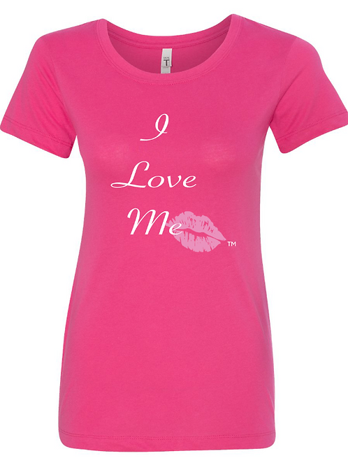 I Love Me Pink Kiss T-Shirt