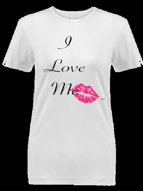 I Love Me White Kiss T-Shirt