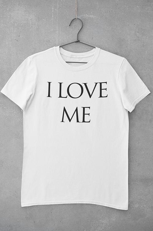 I Love Me White Men's T Shirt