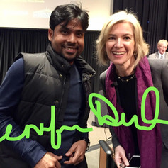 With Prof. Jennifer Doudna