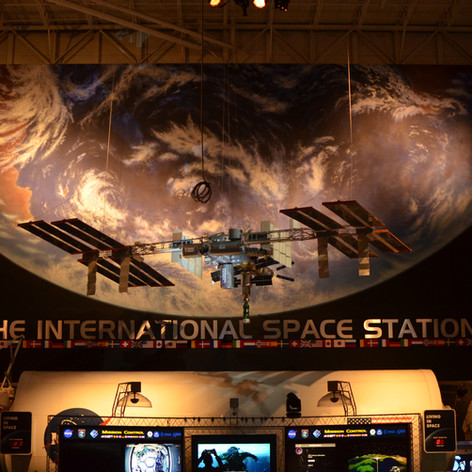 International Space Station replica