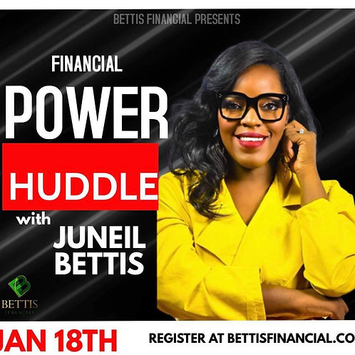 Financial Power Huddle January Access