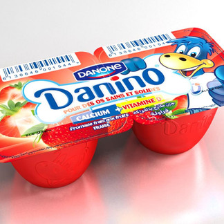 PACKAGING Danino Fromage frais