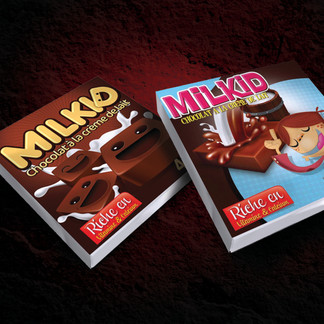 Packaging Carée Milkid