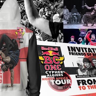 RED BULL | BC ONE Algeria tour Branding