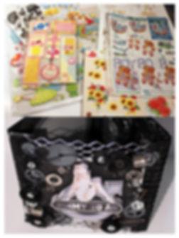 3D-stickers, 3D-motiv