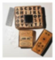 Stämplar, clear stamp, trästämpel, gummistämpel