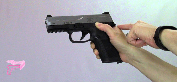 What is a slide lock reload?