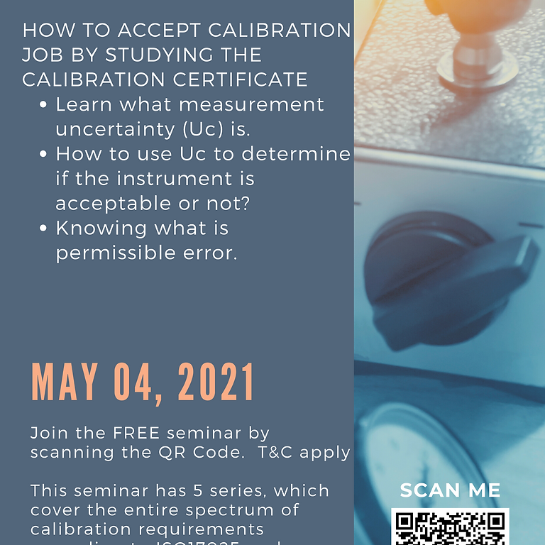 Calibration - How To Accept A Calibration Job by Studying The Calibration Certificate