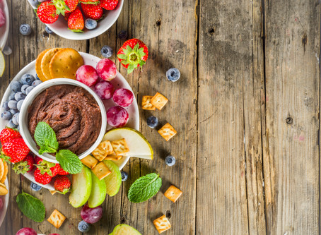 Chocolate hummus. Yes, you read that right!