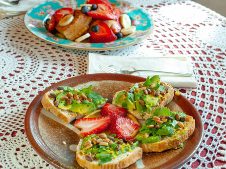 No hipsters were harmed in the making of this avocado toast