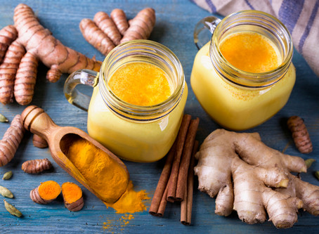 Fancy something comforting to drink? Hello turmeric latte!