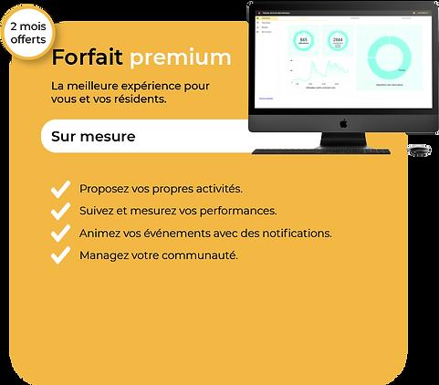 Libérez le potentiel maximal de l'application Flips avec le forfait premium, forfait sur mesure.