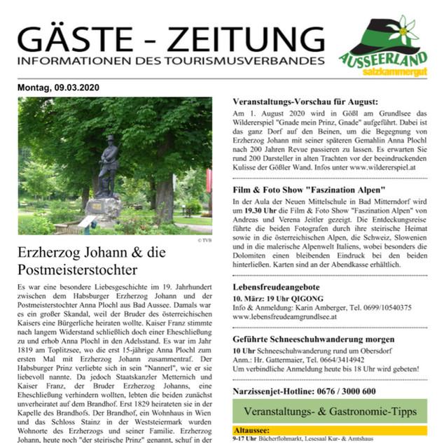Gästezeitung